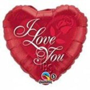 Ballon 'I Love You' 3