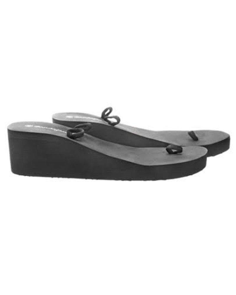 Slipper zwart Medium