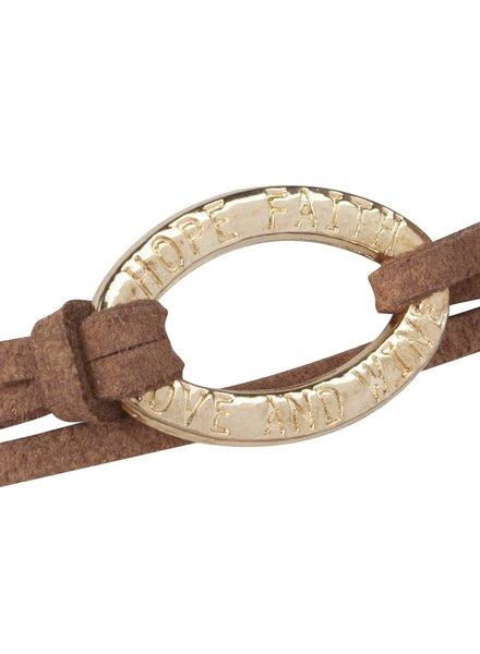 Be Bandalicious Gold-Metallic brown