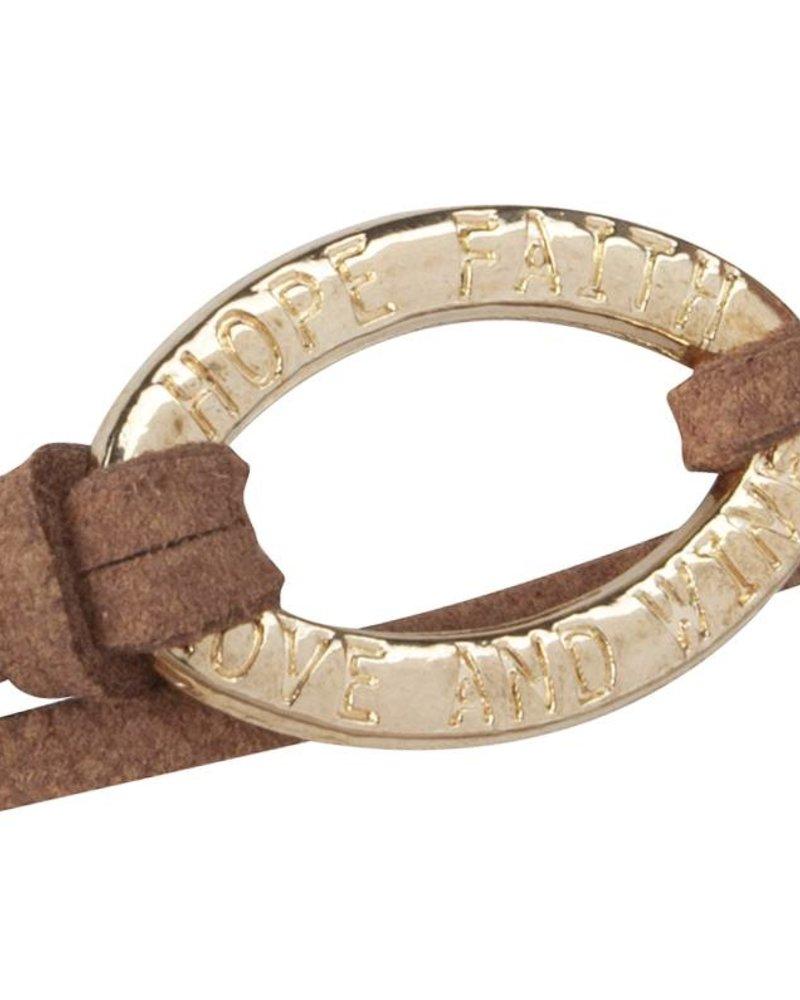 Be Bandalicious Gold- Metallisch Braun
