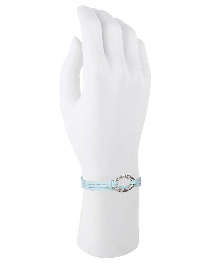 Be Bandalicious zilver- lichtblauw