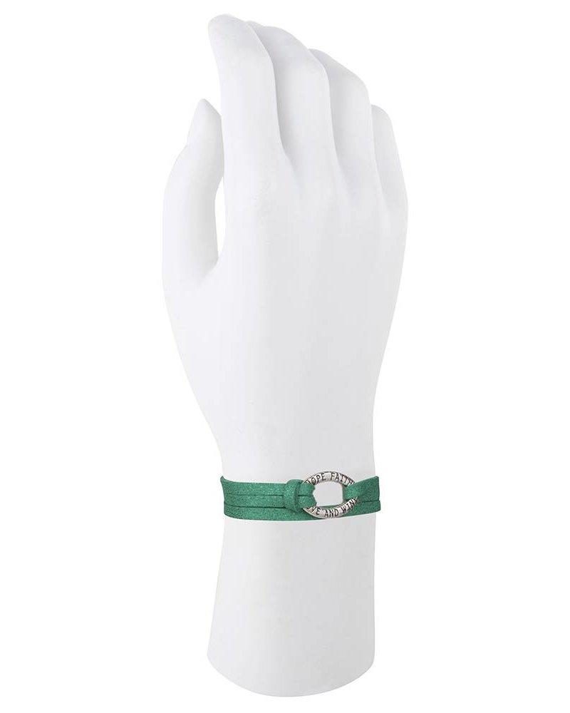 Be Bandalicious Silver- Metallic green