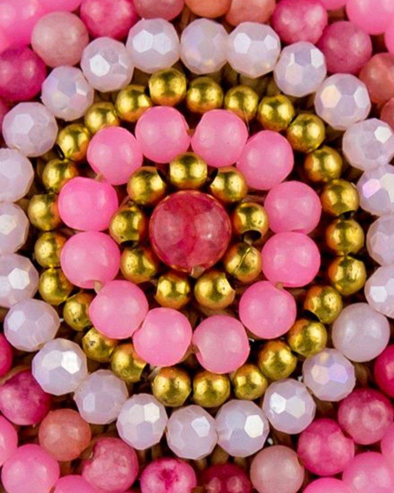 Bandajanas Boho chick roze goud