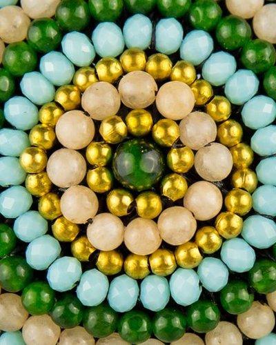 Bandajanas Boho chick groen/goud