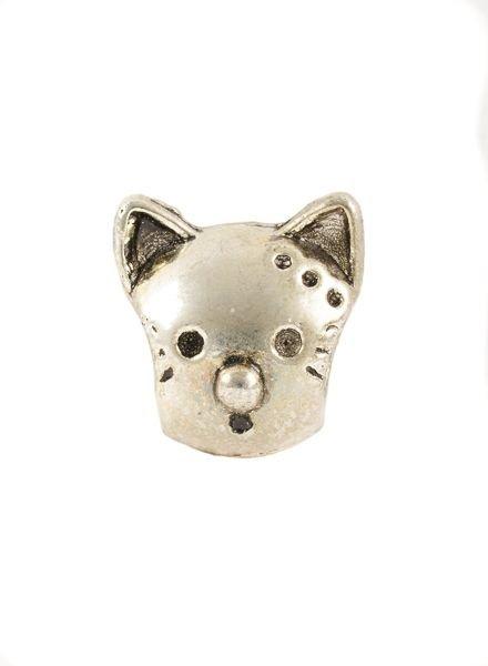 Bandajanas Slipper charm, Cat head