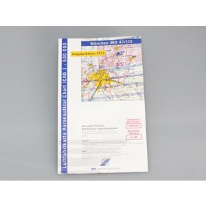 ICAO Map - edition 2015 - laminated