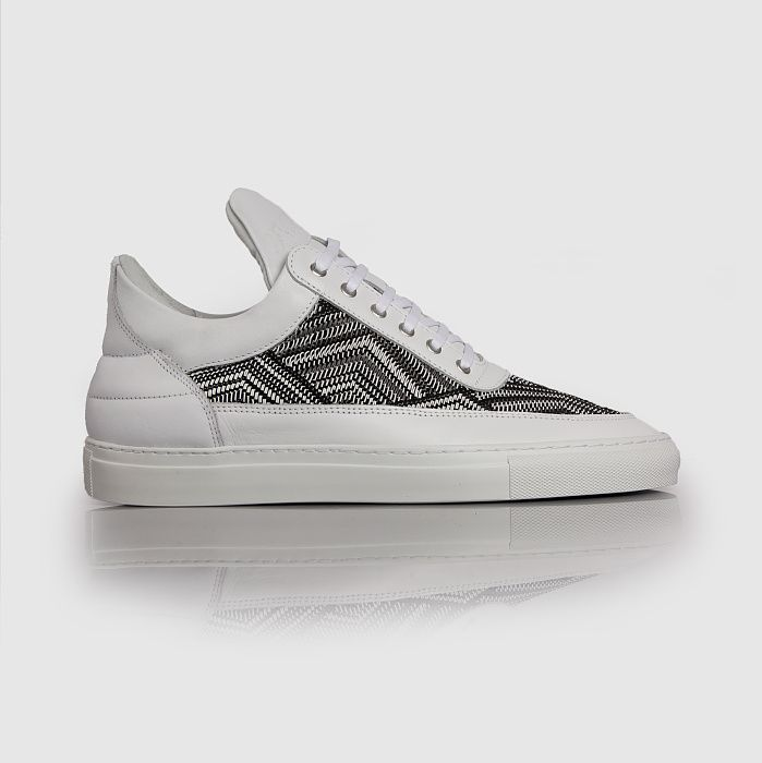 Filling Pieces Low Top TSA Woven Weiß
