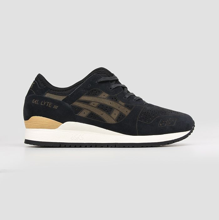 Assics Gel-Lyte III EVO Laser Cut Black Black
