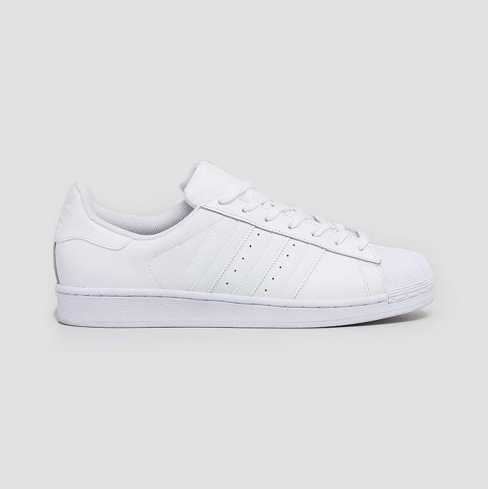 Adidas Superstar Foundation Weiß Weiß B27136