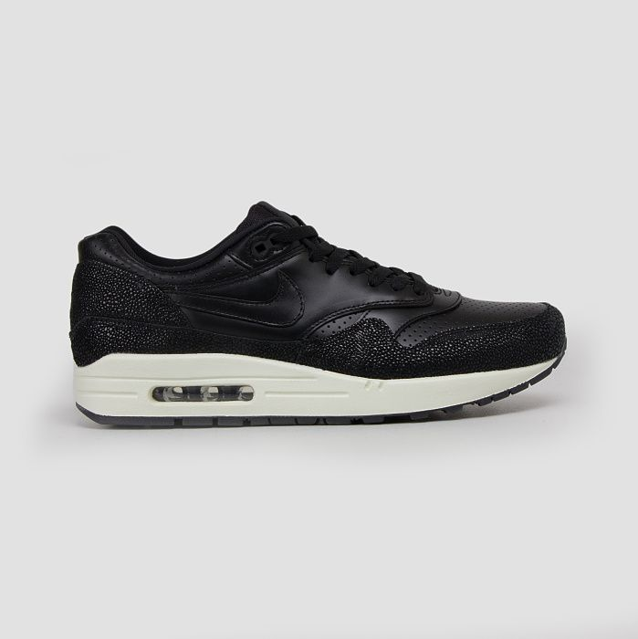 Nike Air Max 1 Schwarz-Leder-Black Sea Glass