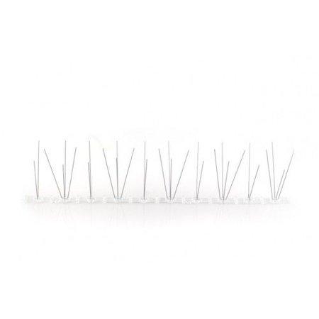 Duivenpinnen MIC103 op kunststofstrip van 50 cm, met 30 RVS-pinnen - 0,5 mt/st