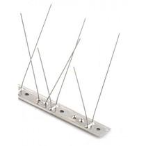 Duivenpinnen MIC760 op RVS-strip, 60 RVS pinnen - 1 mt/st
