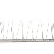 Pigeon bird spikes STAINLESS STEEL-strip with 80 spikes, MIC780 - 1 m/strip