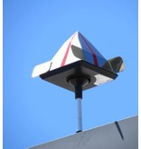 Wind Eagle Eye spiegelpyramide staand