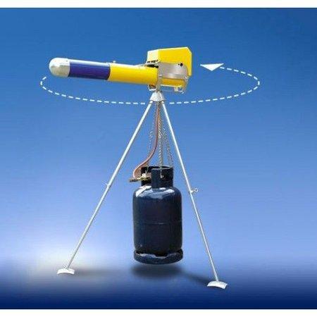 Knalapparaat Mechanisch ZM 4 - telescopisch - gaskanon