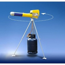 Driepoot tbv mechanisch gaskanon 1,25 mt hoog