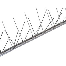 Duivenpinnen RVS-strip niet FLEX 60 pinnen, MIC260 - 1 mt/st