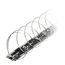 Duivenwerende veer MIC327 op RVS strips / blister van 4 veren - goed voor 5 meter