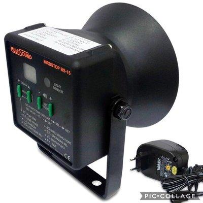 Vogelverschrikker Birdstop + 12V adapter