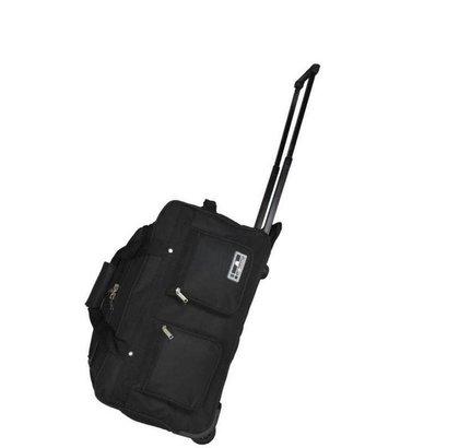 Leonardo Handbagage Trolley Reistas Zwart