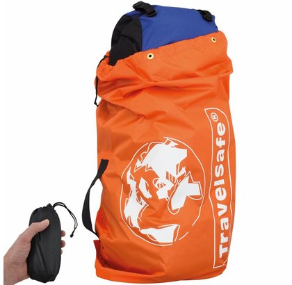 TRAVEL SAFE FLIGHTBAG VOOR BACKPACK ORANJE