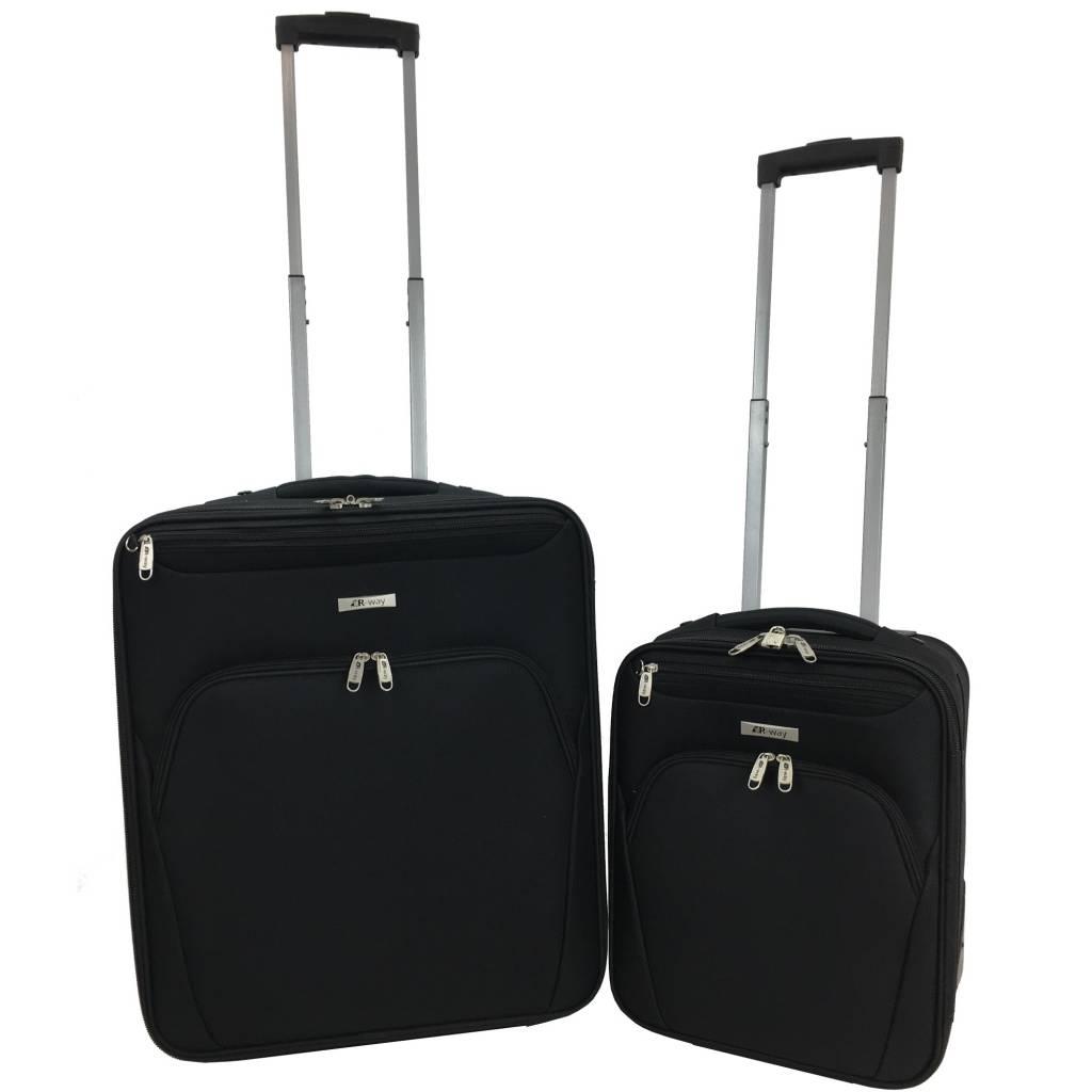 r way handbagage koffer 56x45x25 49 99 kofferstunter. Black Bedroom Furniture Sets. Home Design Ideas