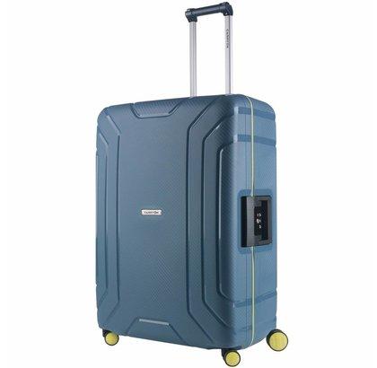 CARRYON STEWARD SPINNER 75CM ICE BLUE GROOT TSA 100 LITER
