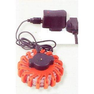 Gyrophare de secours rechargeable
