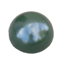 Borne demi-sphère en fonte vert