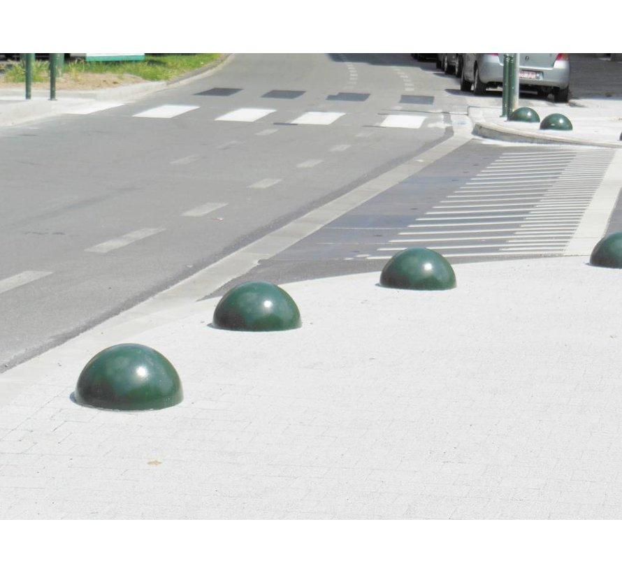 Borne demi-sphere en fonte (vert)