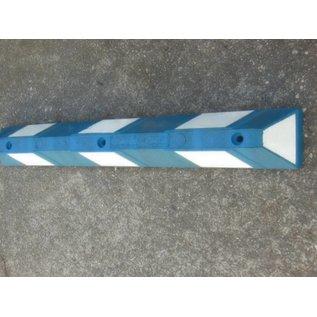 Butoir de parking Bleu blanc - 1200 X 150 X 100 mm