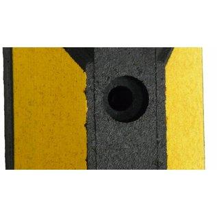 Butoir de parking Park-It® (Noir-jaune) 1200 x 150 x 100 mm