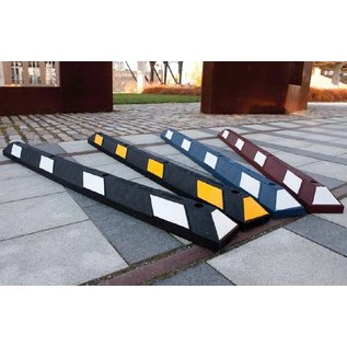 Butoir de parking Park-it® (Noir-jaune) 1800 x 150 x 100 mm