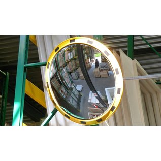 Miroir industriel rond 800 mm en stock must equipement for Miroir industriel noir