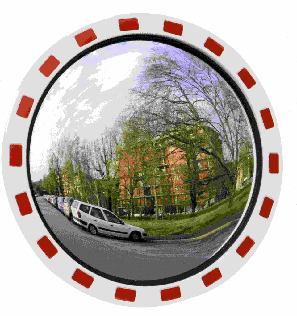 Miroir routier rond 800 mm en stock must equipement for Miroir rond blanc