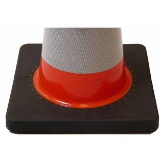 Cone de signalisation flexible 50 cm  flexible  Classe 2