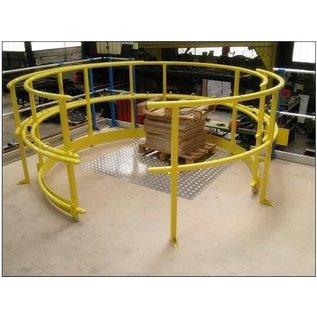 Barrière écluse - SAS rotatif R3000