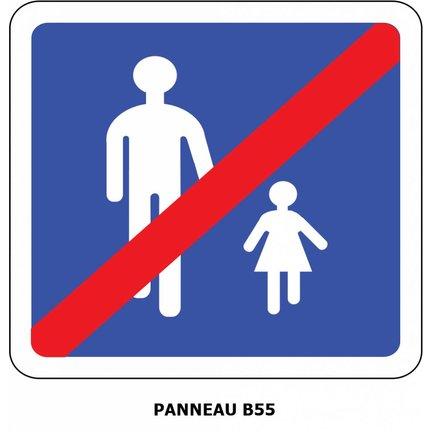 Panneaux de signalisation Type B et C : Indications