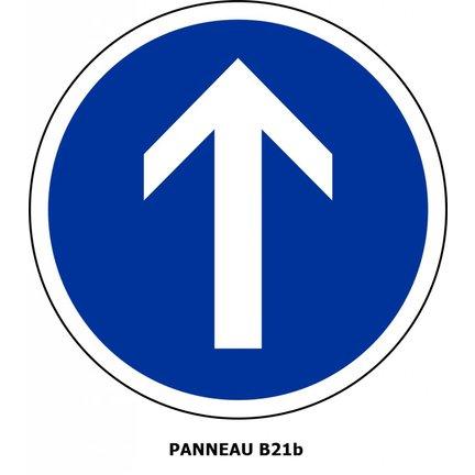 Panneaux de signalisation Type B : Obligations