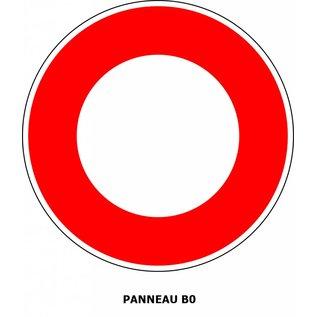 Panneau B0 Circulation interdite à tout véhicule
