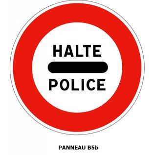 Panneau B5b Arrêt Police