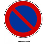 Panneau B6a1 Stationnement interdit