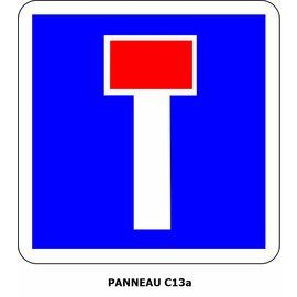 Panneau C13a Impasse
