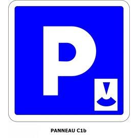 Panneau C1b Stationnement gratuit avec disque