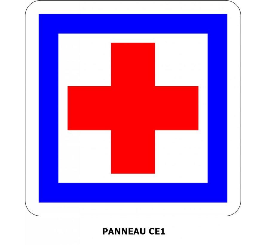 Panneau CE1  Poste de secours