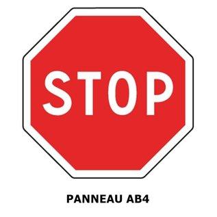 Panneau AB4 Panneau STOP