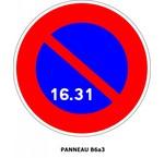 Panneaux de signalisation Type B Stationnements