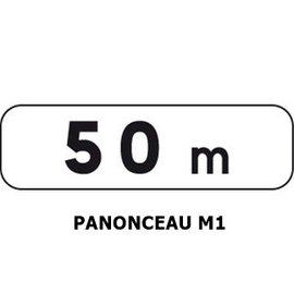 Panonceau M1 (pour panneau carré)