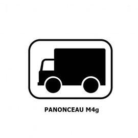 Panonceau M4g (pour panneau carré)