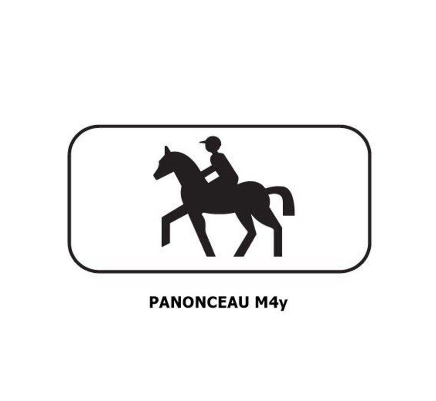 Panonceau M4y (pour panneau carré)